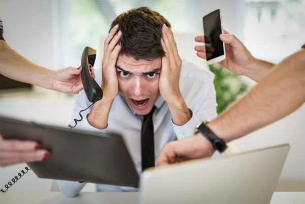 Overwhelmed?…Turn Your Unproductive Hours Dealing With Interruptions Into Time Well Spent