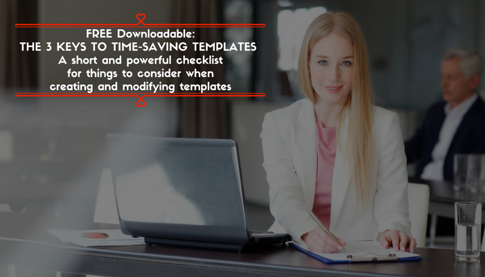 Savvy Templates Make Working Gracefully Easy Again
